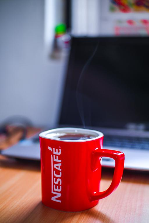 Czy często pijecie kawę z kubka reklamowego z nadrukiem?