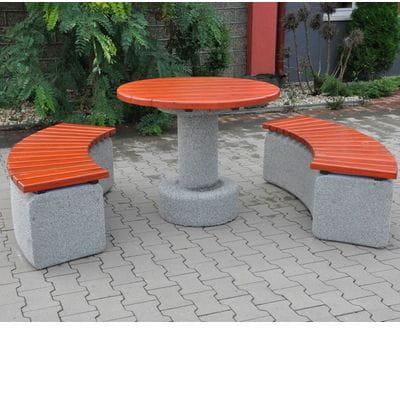 Betonowy stół piknikowy